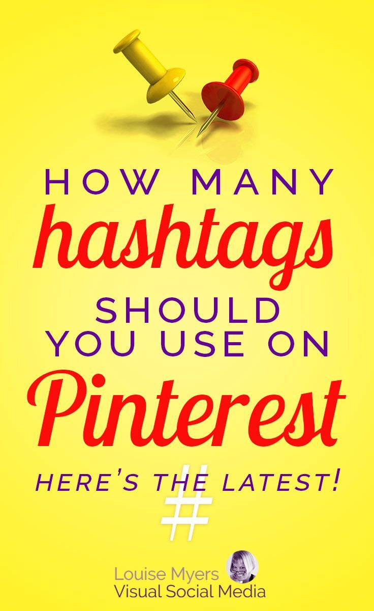 Pinterest marketing tips: How many hashtags should you use on Pinterest? Click to read the latest, plus how to use hashtags to drive repins, traffic, and sales, instead of driving Pinners away! #hashtagtips #marketingtips #pinteresttips #pinterestmarketing #socialmediatips
