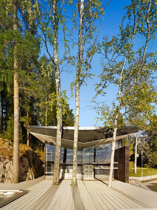 lehtinen miettunen arkkitehdit  kanssa lasse lehtinen / sauna kotiranta, lahti