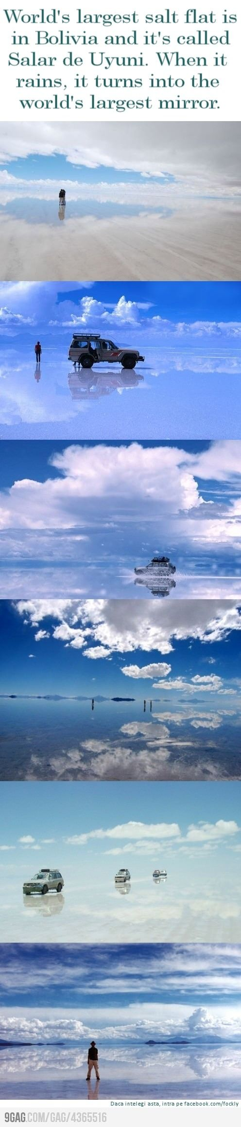 largest salt mirror, bolivia: Places To Visit, Largest Salts, Buckets Lists, The Salar De Uyuni, Salts Flats, World Largest, South America, Earth, Bolivia