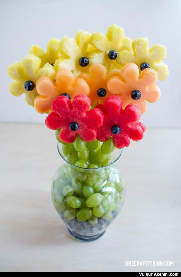 Un bouquet de fruits - A Gradient of Fruity Flowers