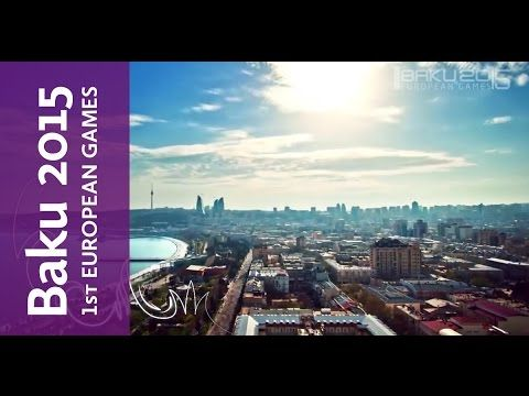 Baku 2015 First European Games Logo Launch | Baku 2015