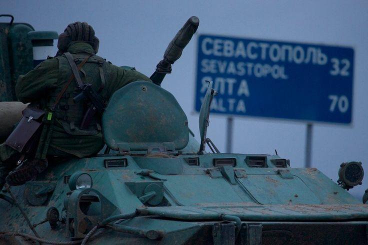 Krim-Krise: Ukraine wirft Russen Aggression vor - SPIEGEL ONLINE