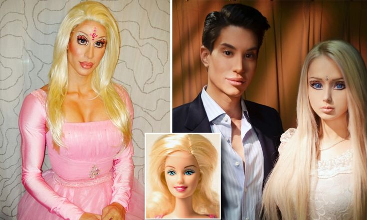 The makers of barbie used to sell a doll whose breasts grew when her arm rotated