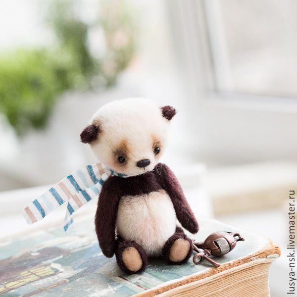 Купить Выкройка мишки панды по технологии тедди - белый, pdf, pdf выкройка, pdf pattern