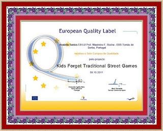 BLOGando n@ Escola: Selo Europeu de Qualidade: http://blogandonaescola1.blogspot.pt/2011/10/selo-europeu-de-qualidade.html