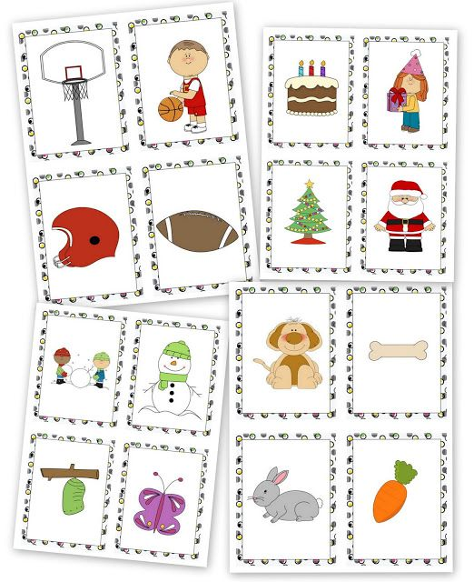 Things That Go Together Printables (Free)
