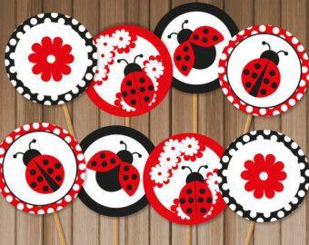 cupcakes de vaquita de san antonio - Buscar con Google