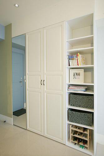 進門的玄關收納櫃