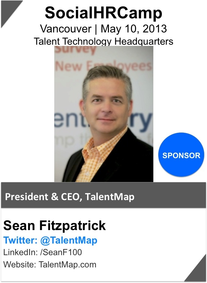 @Sean Fitzpatrick is President and founder of TalentMap. He has helped many leading public and private sector organizations maximize engagement and boost productivity through TalentMap's integrated employee feedback system. Sean has worked on numerous complex, custom survey projects measuring engagement, workplace culture and diversity, generational diversity, workplace quality, mental health in the workplace, workplace safety, and post-acquisition workplace climates.