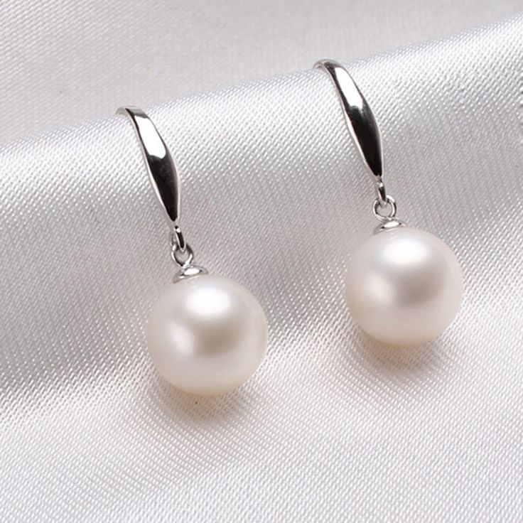 Genuine fresh water round pearl dangling earrings,8mm AAA quality,good luster, best gifts choice for girlfriend,wife and lovers