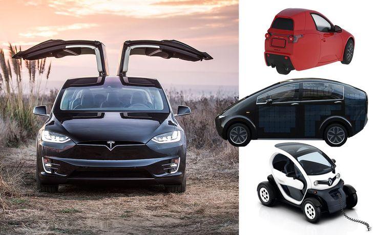 Die wichtigsten Elektroautos 2016/2017/2018 im Vergleich