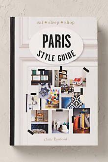 Paris Style Guide.