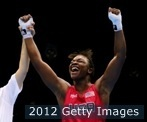 Claressa Shields first gold medalist in Woman's boxing