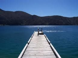 Fancy a dip? Come on, step on over to one of the most beautiful places on the planet, Marlborough Sounds, NZ