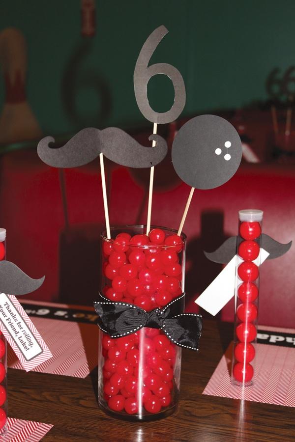 Mustache Party Centerpiece Ideas