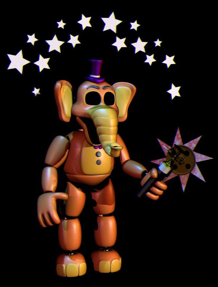 Security Orville Elephant By Popi01234 Fnaf 222444865
