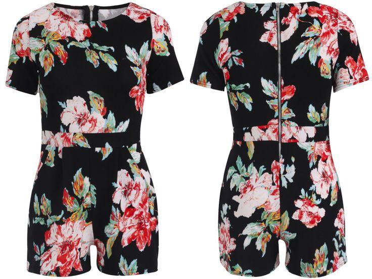 Floral Jumpsuit R600