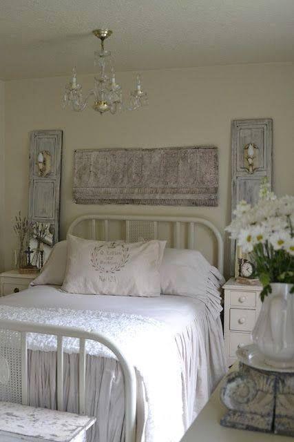 White Shabby Bedroom