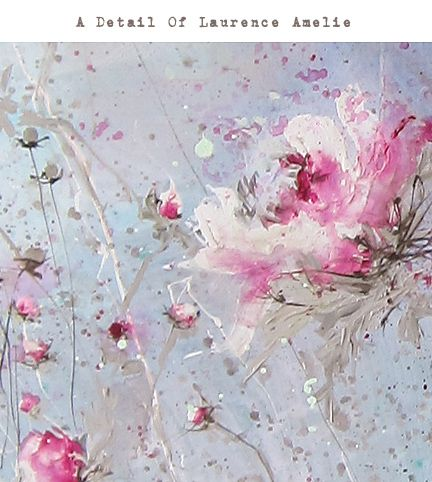 Laurence Amelie painting sold at Rachel Ashwell Shabby Chic Couture ~ pure happiness