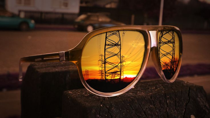 Some of my sunset photography by #wahid #qambari #sunset #Pink #sky #sun #beautiful #vignette #colours #mirror #christchurch #New #Zealand #powerlines #sunset #photography #photoshop #glasses