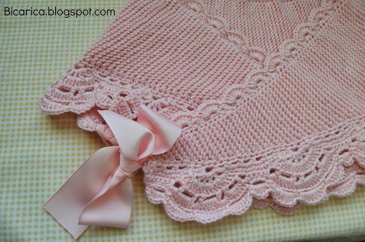 Ma anitas bicarica ropita artesanal para beb s y ni os - Labores de crochet para bebes ...