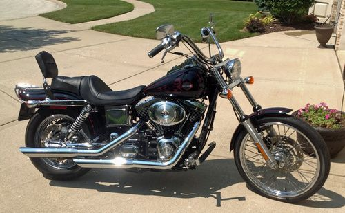 2002 Harley Davidson Dyna Wide Glide, Price:$4,950.00. Lemont, Illinois #harleydavidsons #harleys #dyna #wideglide #motorcycles #hd4sale #harleydavidsondynawide