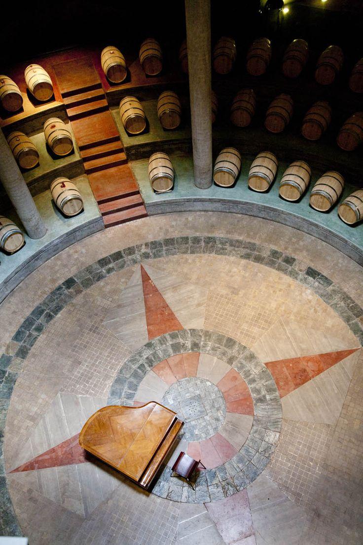 Cava de Bodega #Salentein, Valle de Uco #Mendoza. / wine cellar Salentein Winery