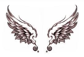 wing tattoo <3
