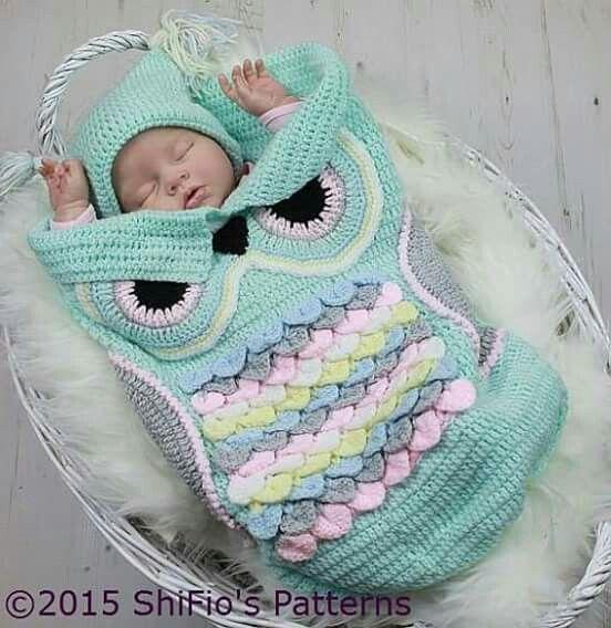 Baby owl blanket!