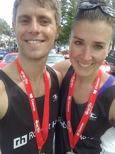 Perth's Connor Hughes & Nikita Pavlinovich participated in the Perth Chevron City to Surf in August both taking on the marathon distance and finishing with best times. Amazing job guys!
