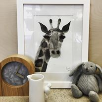 Art. Gigi the Giraffe by Phoebe Jost Art. Minta & Co