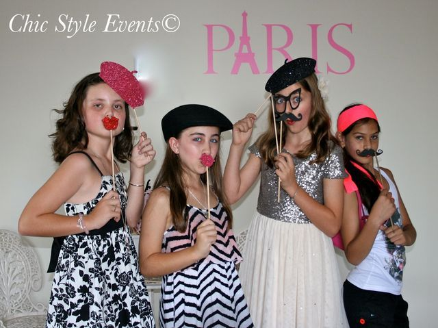 "Photo 12 of 38: Paris Vintage High Tea / Birthday ""Paris Vintage High Tea"" | Catch My Party"