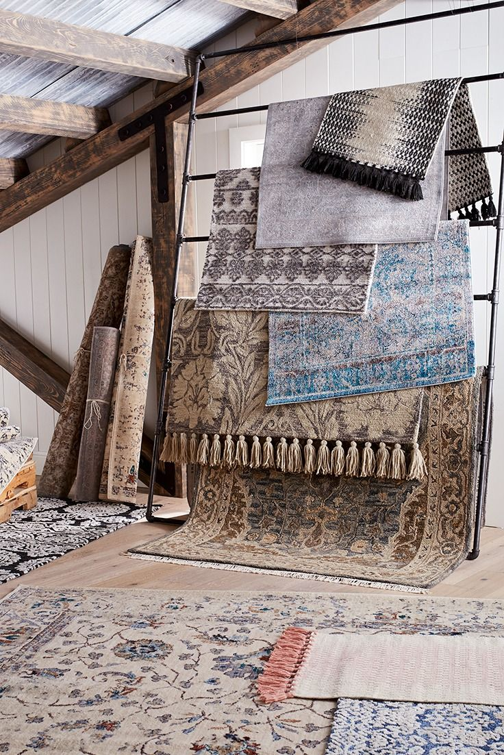 This signature collection of rugs from Magnolia Home by Joanna Gaines combines heirloom-style patterns and colors with plush, durable fabrics, allowing you to create a space with character—yours. They're now available at pier1.com!