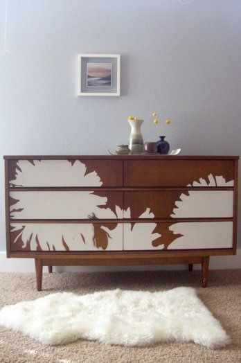 50 best painted mid century furniture ideas images on for Painted mid century modern furniture