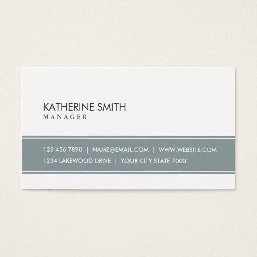 160 best automotive business cards images on pinterest lyrics elegant professional plain simple gray and white business card colourmoves