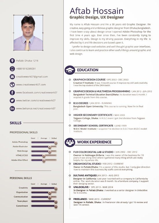 82 best resume templates    plantillas images on pinterest