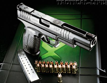 SPRINGFIELD XDM-5.25 9mm. Loves me a good competition pistol!