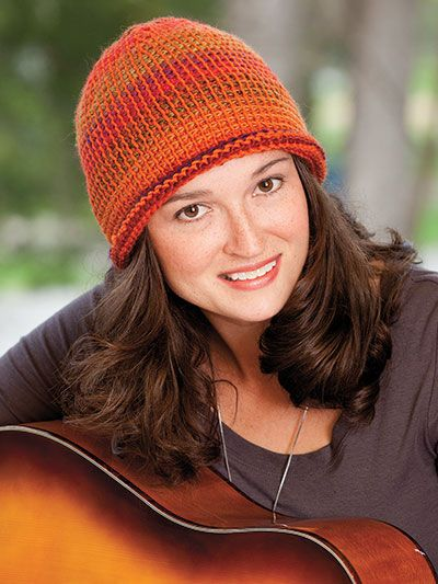 69 best Tunisian Crochet Hats images on Pinterest | Tunisian crochet ...