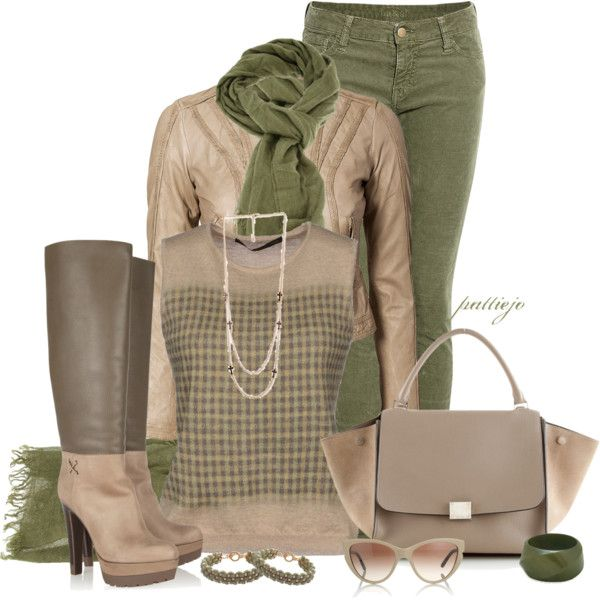 Stylish Outfit - this one would look good on you Brenda!