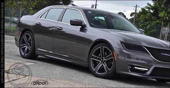 Is This The 2019 Chrysler 300 Chrysler Mopar Chrysler