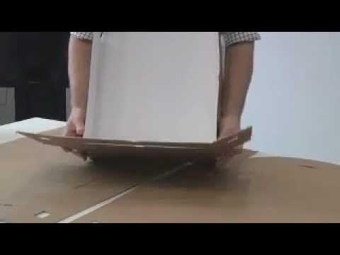 Verpakken in archiefdozen | Vlaanderen Intern