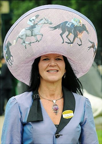 horse race hats for women - Google Search