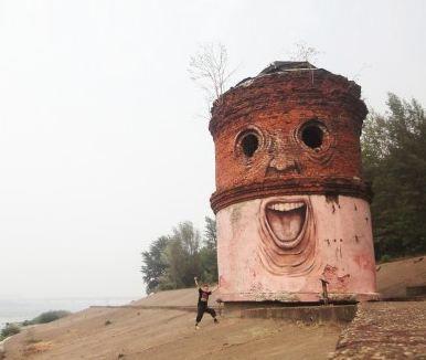 Russian street artist - Nikita Nomerz