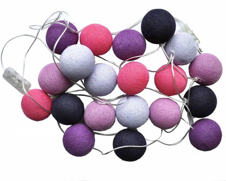 Blanda som du vill. Vi har mer än 50 färger att välja på. Köp en ljusslinga i dina favoritfärger hos oss. Från 295 kr inkl frakt.