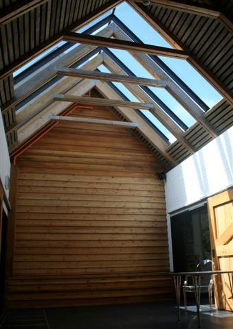 Let daylight into your building with a GV Fixed Ridgeglaze