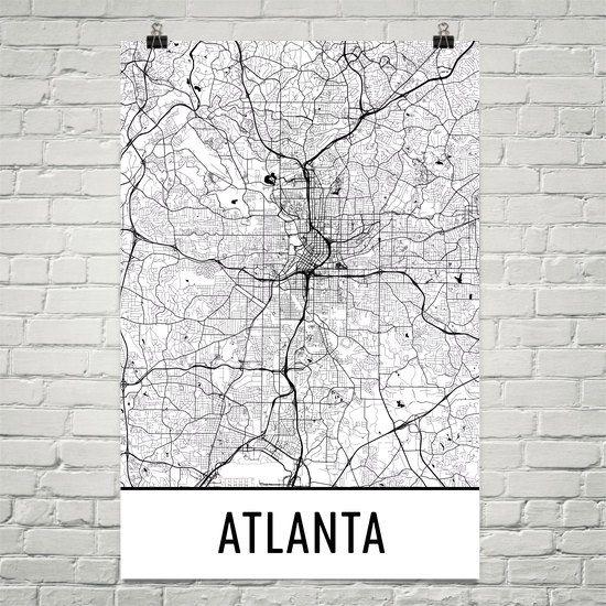 Best 25 Atlanta map ideas on Pinterest Attractions in atlanta
