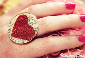Glam Valentine's Day Rings