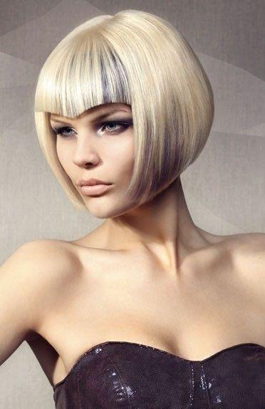 futuristic hair style
