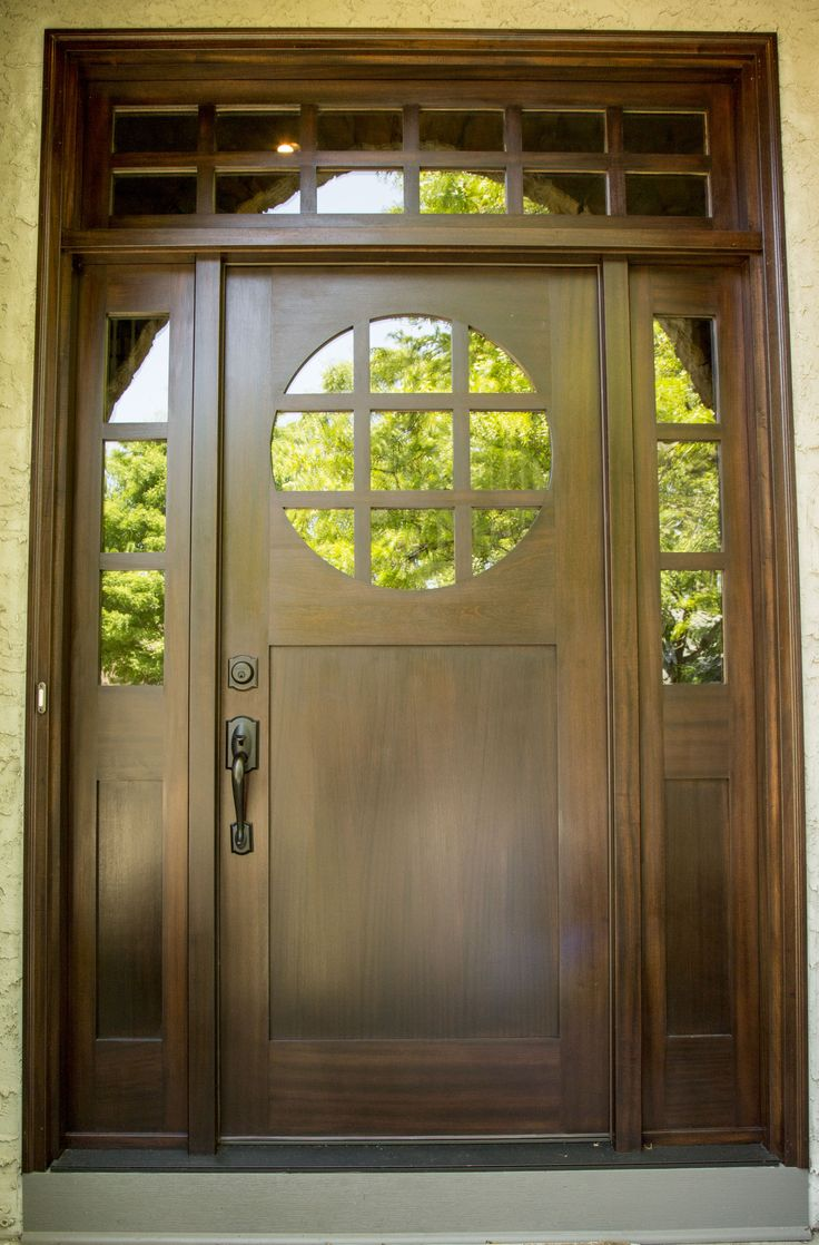 Best Custom Mahogany Entry Door Stained And Finished 640 x 480