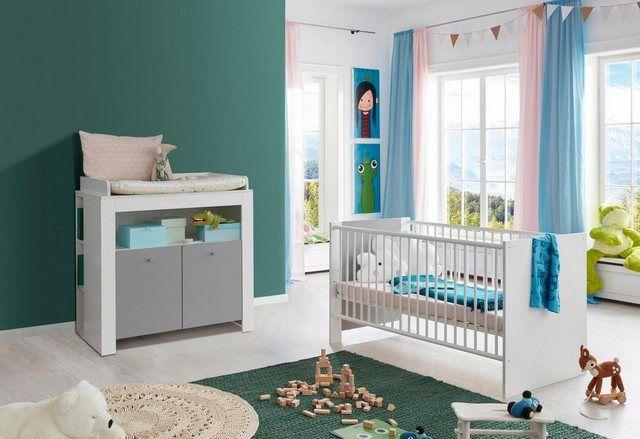 Babymobel Set Lissabon 2tlg Bett Wickelkommode Babyzimmer